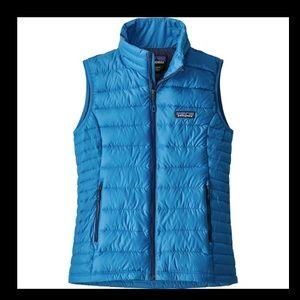 Patagonia down vest wmns